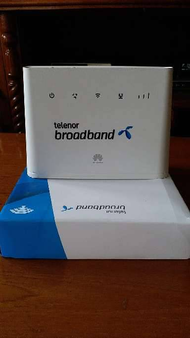 Telenor broadband wireless 4G router (Unlocked)